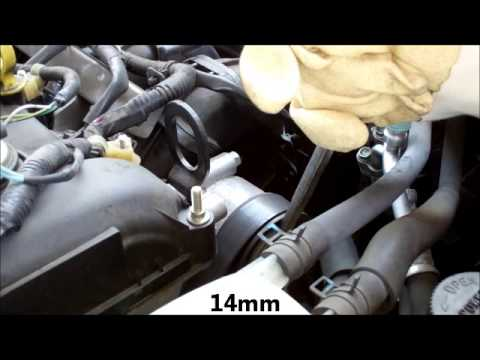 2007 Mazda 3 Alternator Diagnosis and Replacement