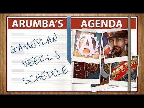 Arumba's Agenda 2017 Week 10