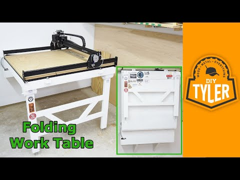 Fold Down Workbench