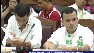 Tempers flare in House hearing on poll e-cheating