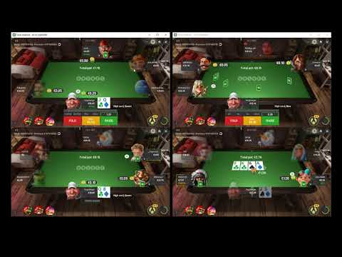 Playing 10nl On Unibet Poker Part 2/2