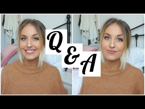 Q & A | Workout Routine, Editing Instagram Photos, Fav Products!
