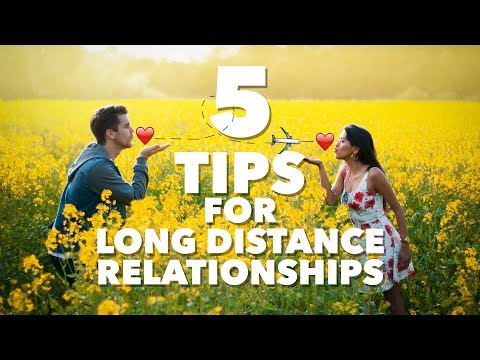 5 tips for a SUCCESSFUL long distance relationship!