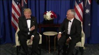 Australian PM mocks Trump in leaked video