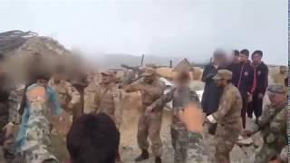 Pakistan Army & FC troops dancing somewhere near border