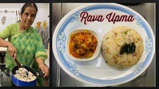 Rava Upma by Revathy Shanmugam