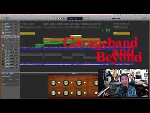 Garageband How to have 2 time signatures!