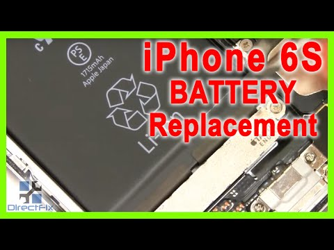 iPhone 6s Battery Replacement in 2 Minutes