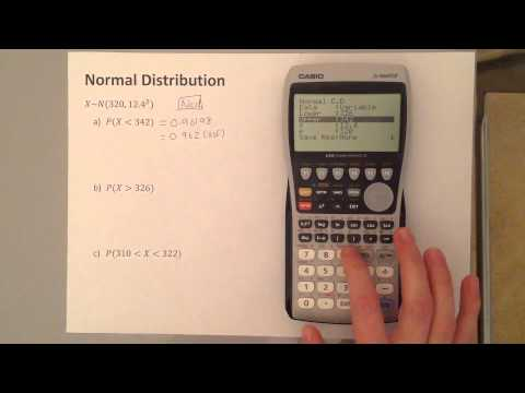 S1 Normal Distribution Graphical Calculator