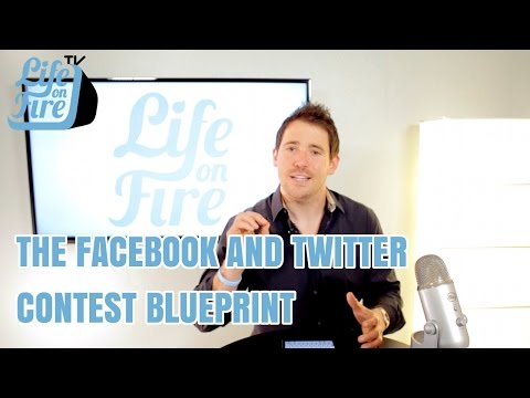 Social Media Strategy - How to Run a Facebook & Twitter Contest