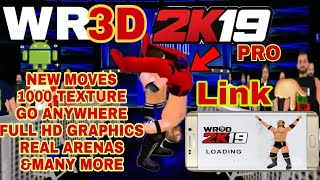 115MB] WWE 2K19 WR3D MOD DOWNLOAD FOR ANDROID || ALOK TECH