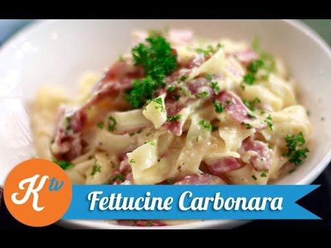 Resep Fettucine Carbonara (Fettucine Carbonara Recipe Video) | STANLEY MARCELLIUS