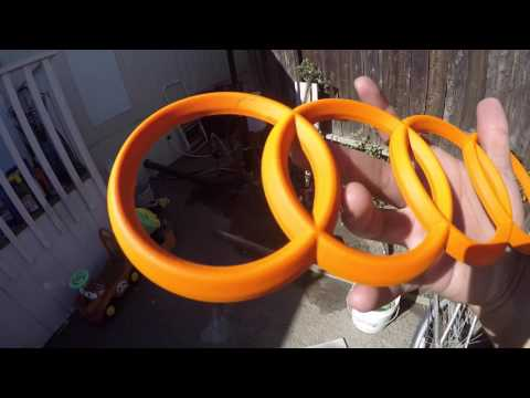 Plasti Dipping Emblems Blaze Orange!!! (For Halloween)