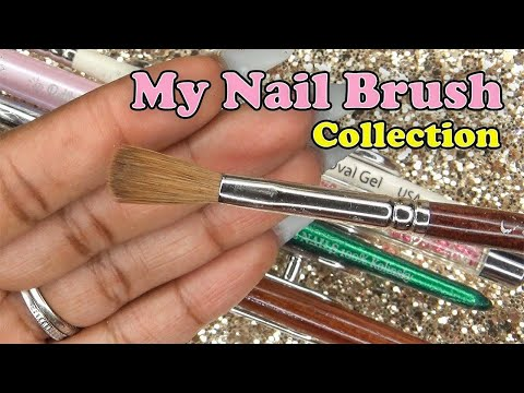 Nail Brush Collection | LongHairPrettyNails