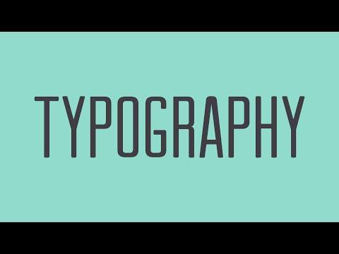 Beginning Graphic Design: Typography