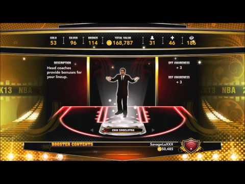 NBA 2K13 My Team - 100,000 VC Pack Opening | Thank you For 1K SUBS!!!!