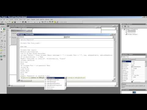 Create Login using Visual Basic 6 and MS Access