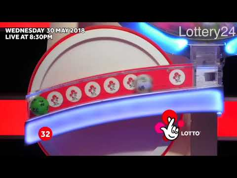 2018 05 30 UK lotto Numbers and draw results