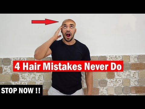 Top 4 Hairstyling Mistakes Boys Make | Healthy Hair Tips for Men