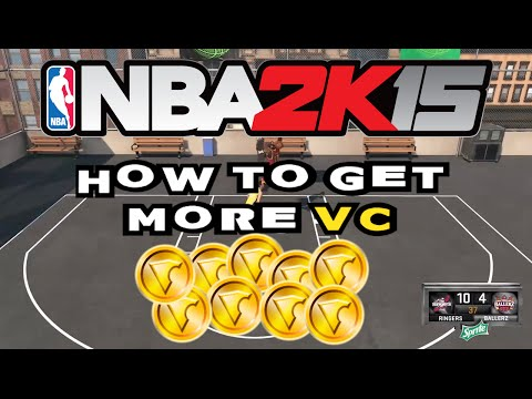 HOW TO GET MORE VC FAST (NBA 2k15)
