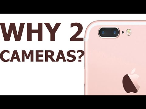 Why the iPhone 7 has 2 Cameras: