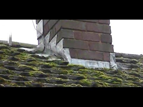 Repairing leaking lead flashing!