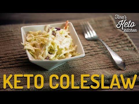 Keto Coleslaw Dressing Recipe | Sugar Free Coleslaw! (Sooooo good!)