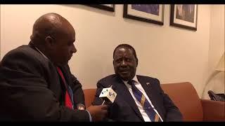 Raila VOA Interview