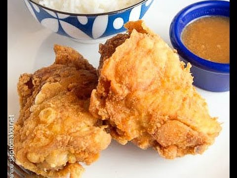 HOW TO COOK FRIED CHICKEN ALA JOLLIBEE