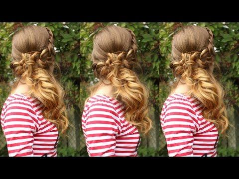 Side Swept Curls Hairstyle | Braidsandstyles12