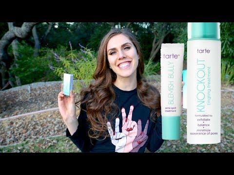 Skincare Deep Dive: Tarte Acne Skincare Blemish Bully Knockout Tingling Treatment Review