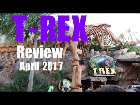 T-Rex Cafe Disney Springs Orlando FULL Review April 2017