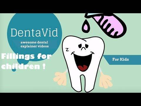 Fillings for children - Tooth Filling- Dental Fillings for Kids