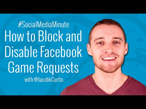 [HD] How to Block Facebook Game Requests and Disable Invites - #SocialMediaMinute