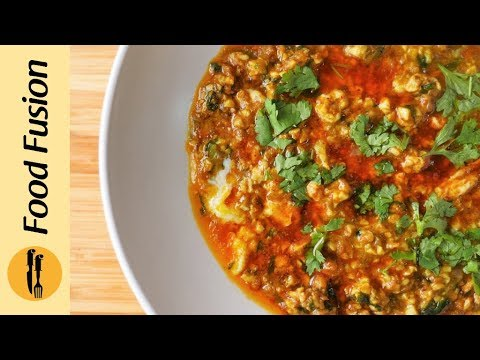 Dhaba Anda(Egg) Recipe By Food Fusion
