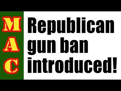 Republican Turncoats Introduce Anti-Gun Law!