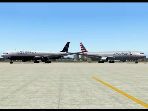 FS2004 - Goodbye, US Airways (1939 - 2015)