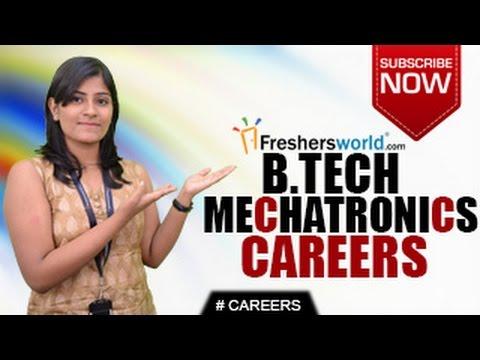 CAREERS IN MECHATRONICS  ENGINEERING –  B.E,B.Tech,M.Tech,Entrance Exam,Job Opportunities