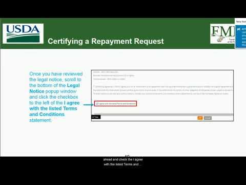 ezFedGrants Training: Certifying a Repayment Request