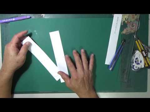 滾動飛行器(Tumblewing )的材料備製與製作過程