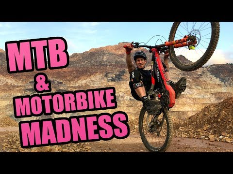 MOUNTAIN BIKE AND MOTORBIKE MADNESS - ERZBERG RODEO