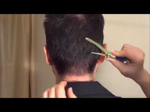 How to cut a Hair Drug Test Sample For Short Hair