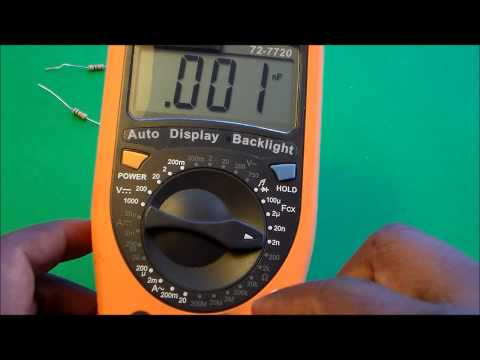 How to Measure Capacitance and Resistance Using a Multimeter