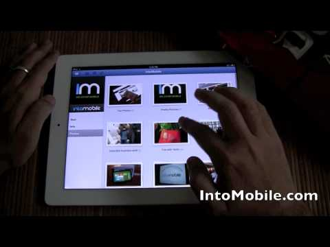 Hands-on: Facebook for iPad App