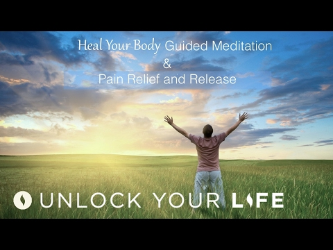 Heal Your Body Guided Meditation & Pain Relief Self-Healing Hypnosis | Ask Dis-ease To Leave