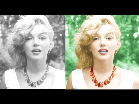 How to Colorize Old Black & White Photo in Photoshop