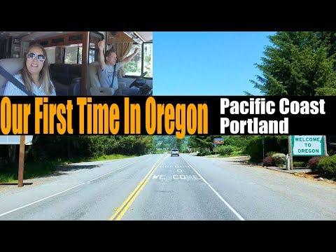 Motorhome RV Living | Rolling Up The Oregon Coast | Day One Portland