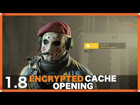 The Division | 1.8 | ENCRYPTED CACHE OPENING !!