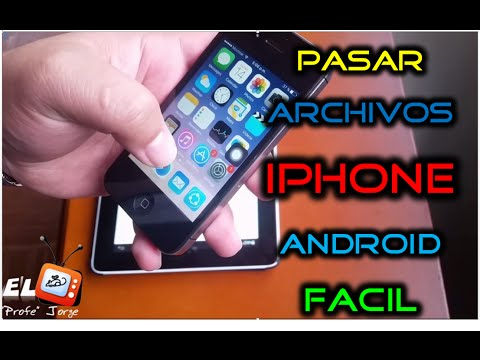 Como Transferir Archivos de Iphone iOS a Android por WIFI FACIL | Fotos Musica Videos | Sin itunes