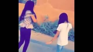 لانا الفراج و وصايف الجناحي يرقصون على شيله